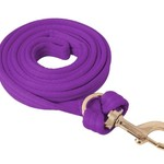 Flat Cushion Lead Rope - Purple