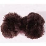 Fleece Ear Plugs - Brown
