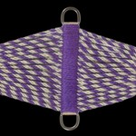 100% Mohair Cinch - Purple