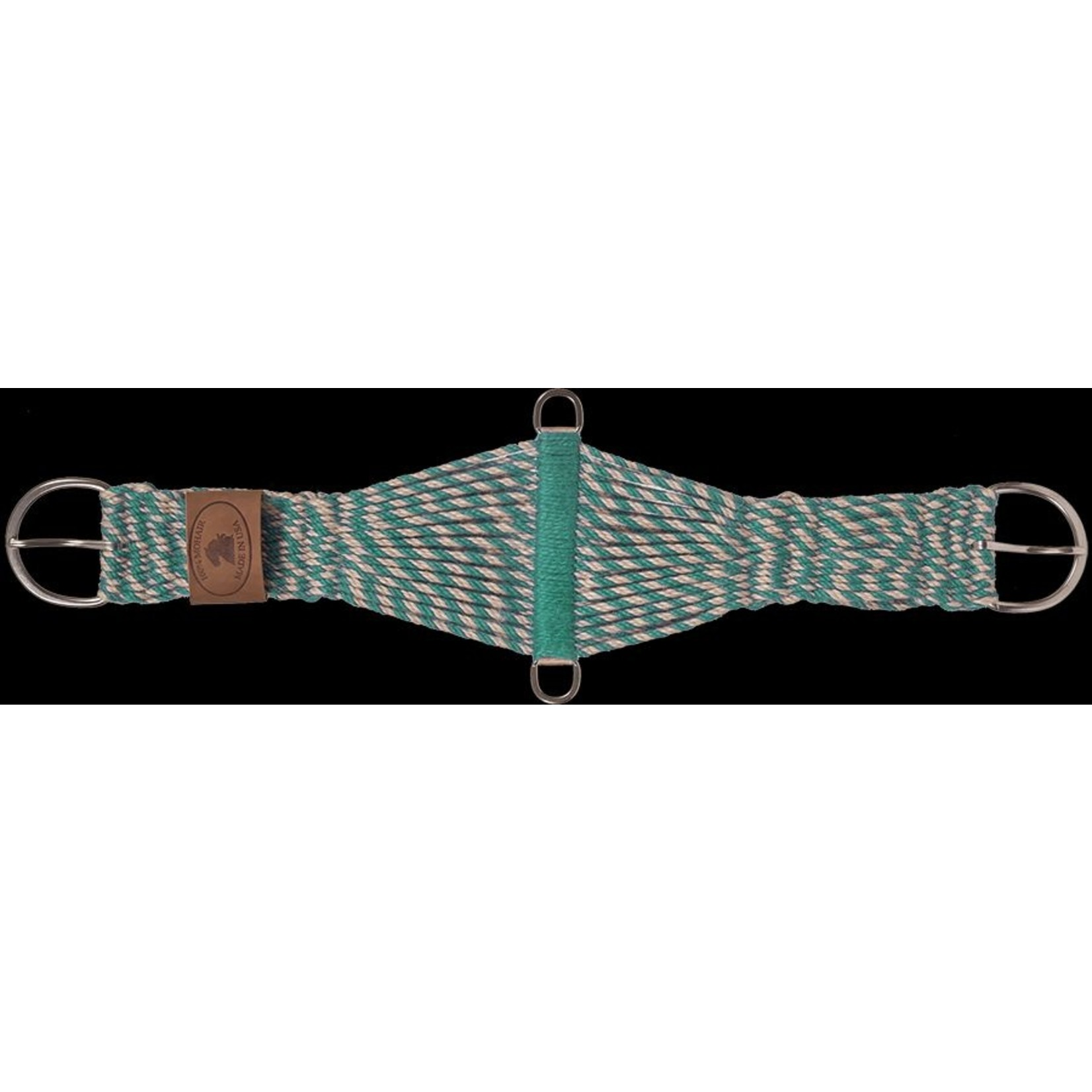100% Mohair Cinch - Turquoise