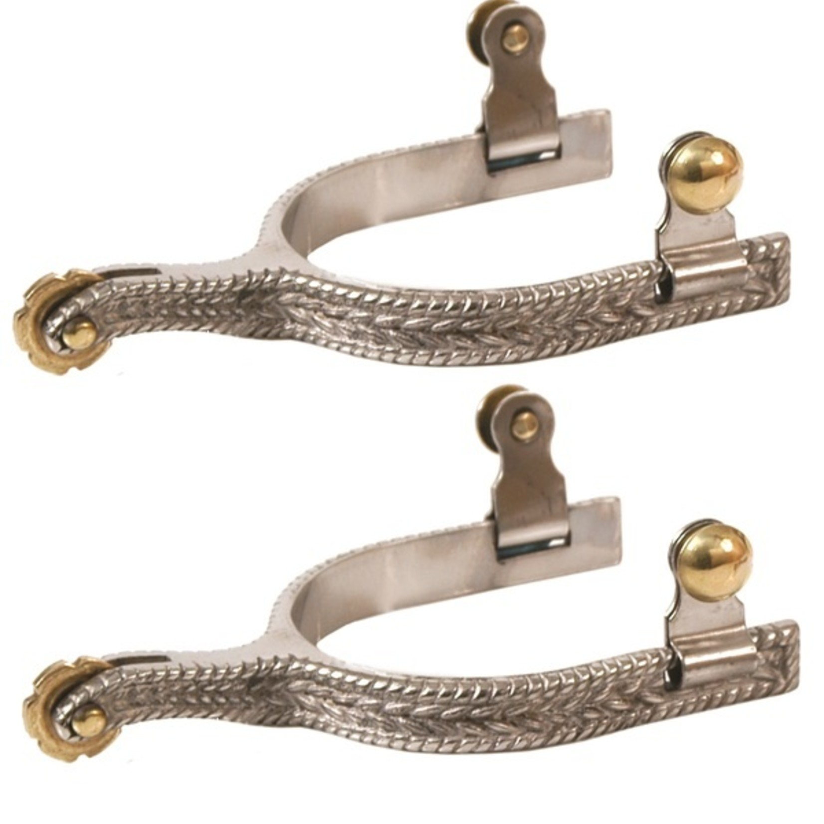 Rope Design Roping Spurs