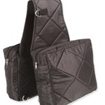 Large Quilted Saddle Bag