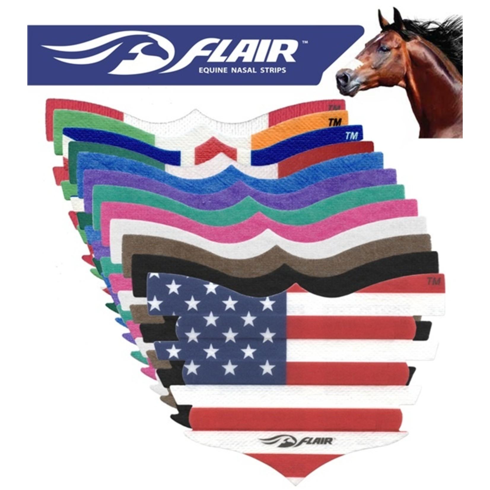 Flair Strip - USA Flag