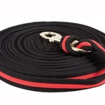 Cushion Lunge Line - Black/Red