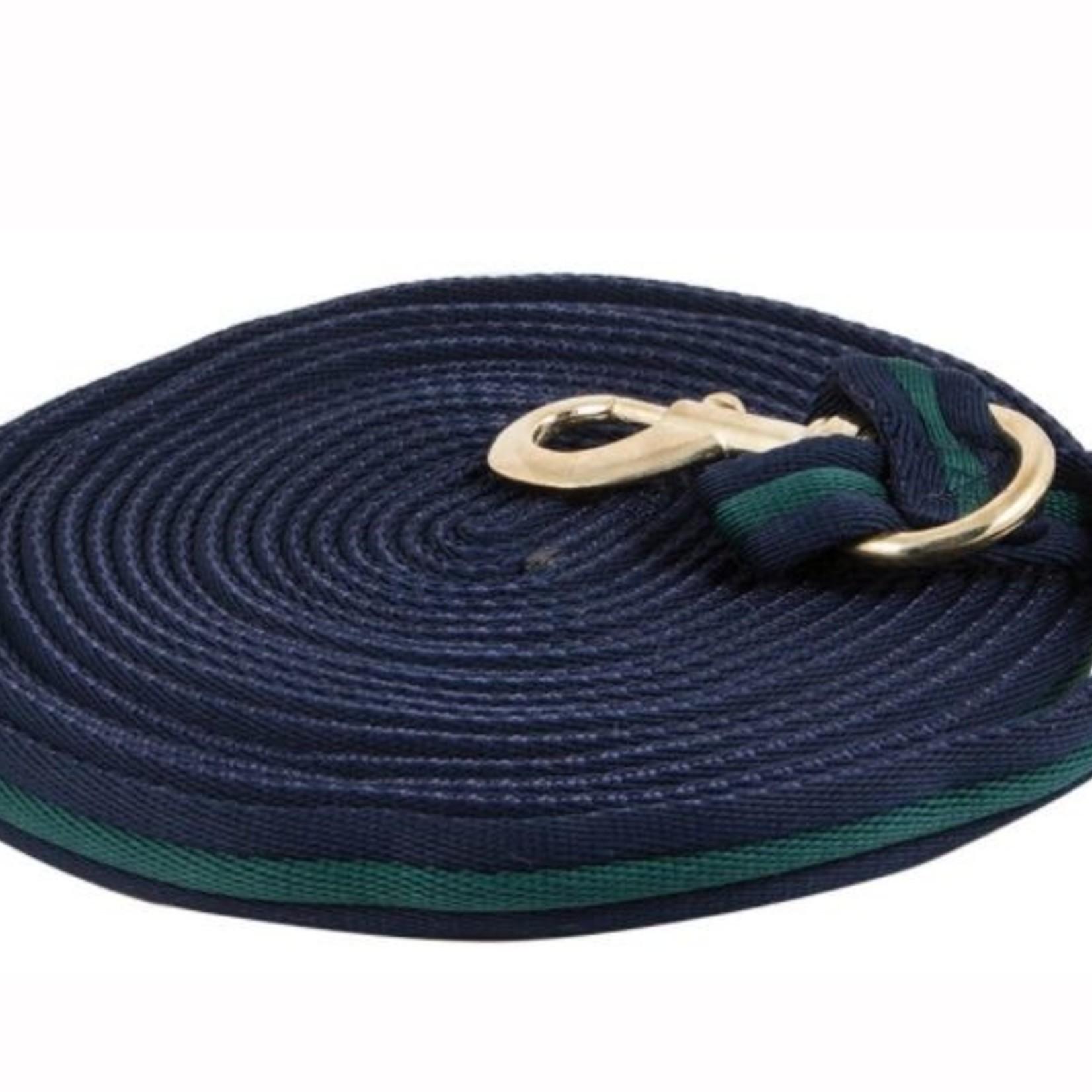 Cushion Lunge Line - Navy/Green