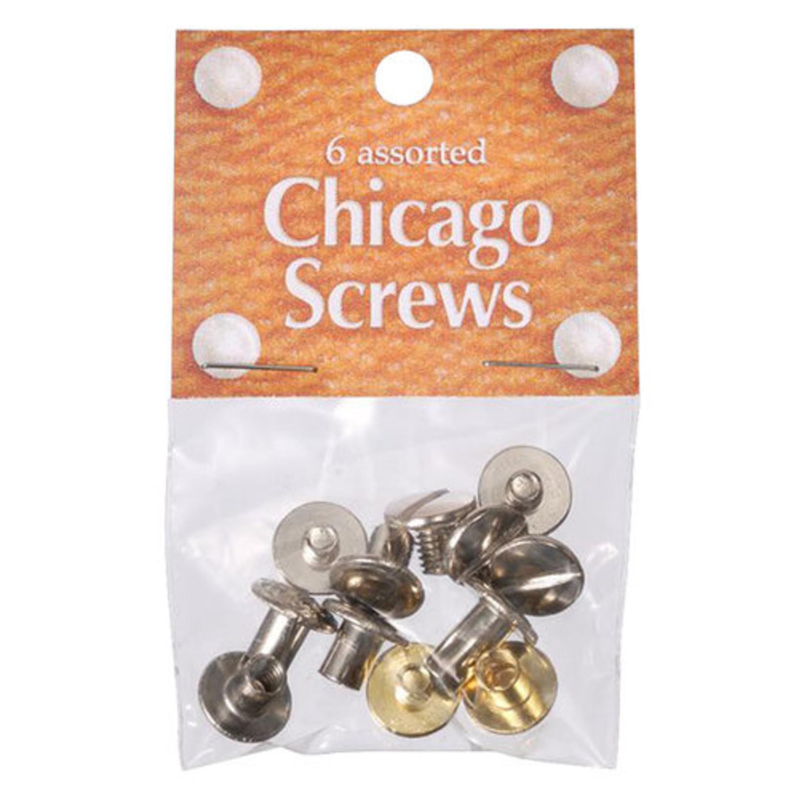 Floral Chicago Screws
