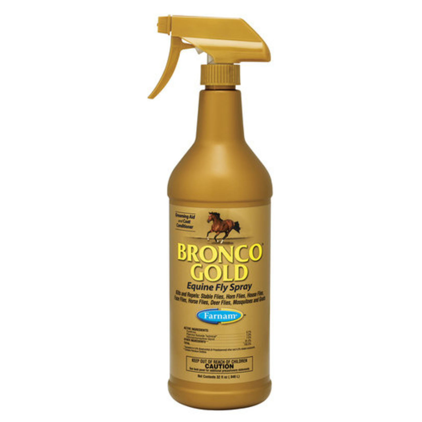 Bronco Gold Fly Spray 1qt