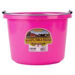 Plastic Bucket 8 qt Pink