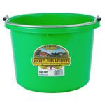 Plastic Bucket 8 qt Lime