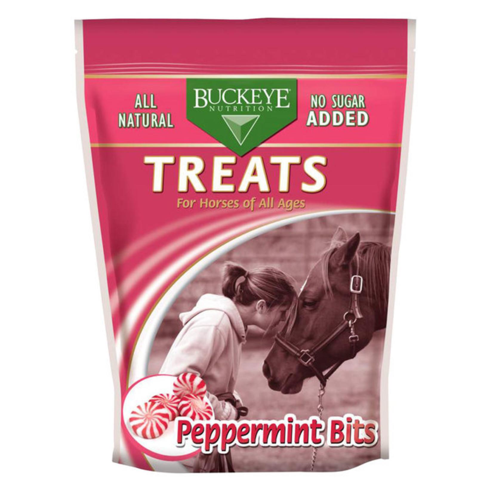 Buckeyes Nutrition Peppermint Bits 1lb  (NO SUGAR ADDED)