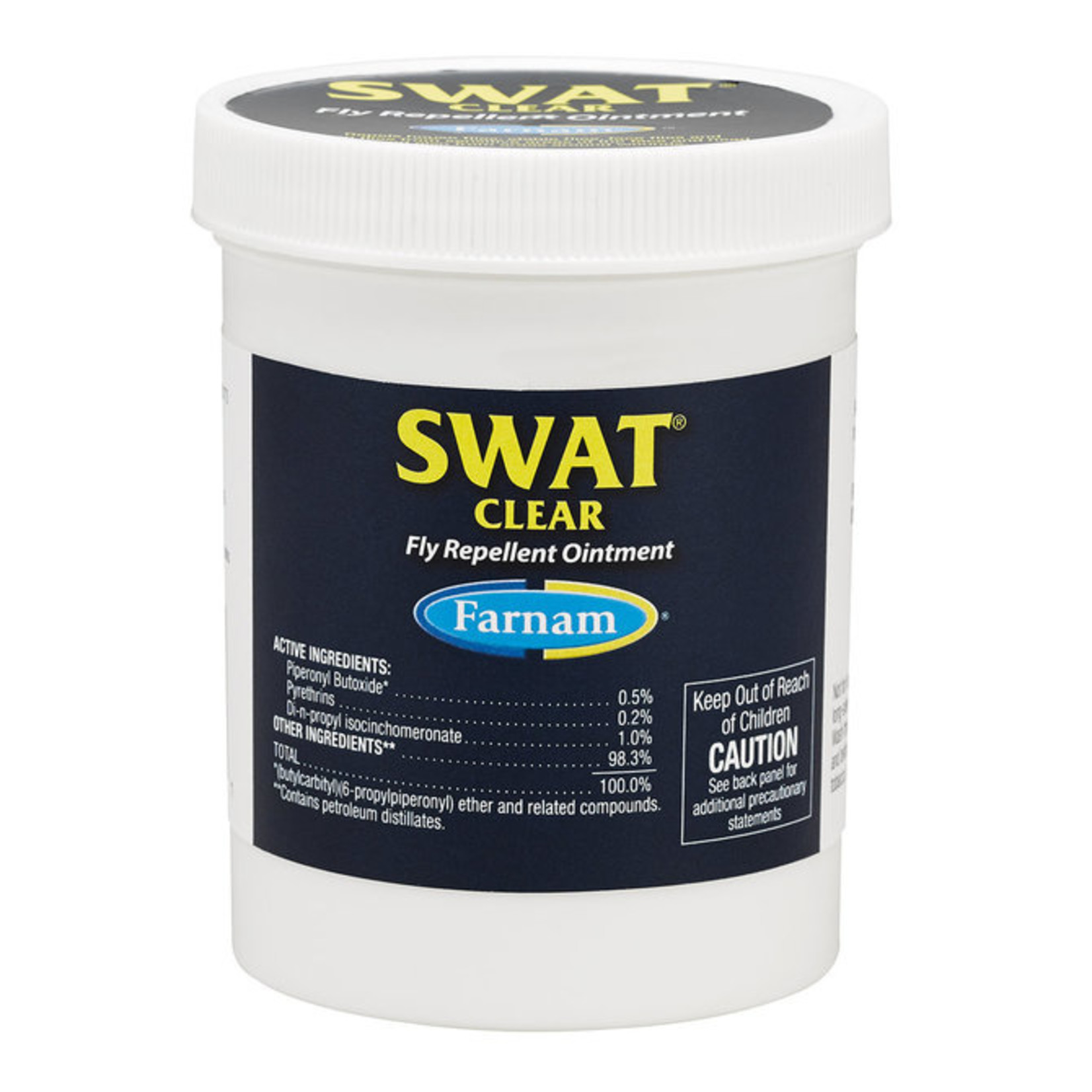 Farnam Swat Clear Fly Repellant Ointment 7oz