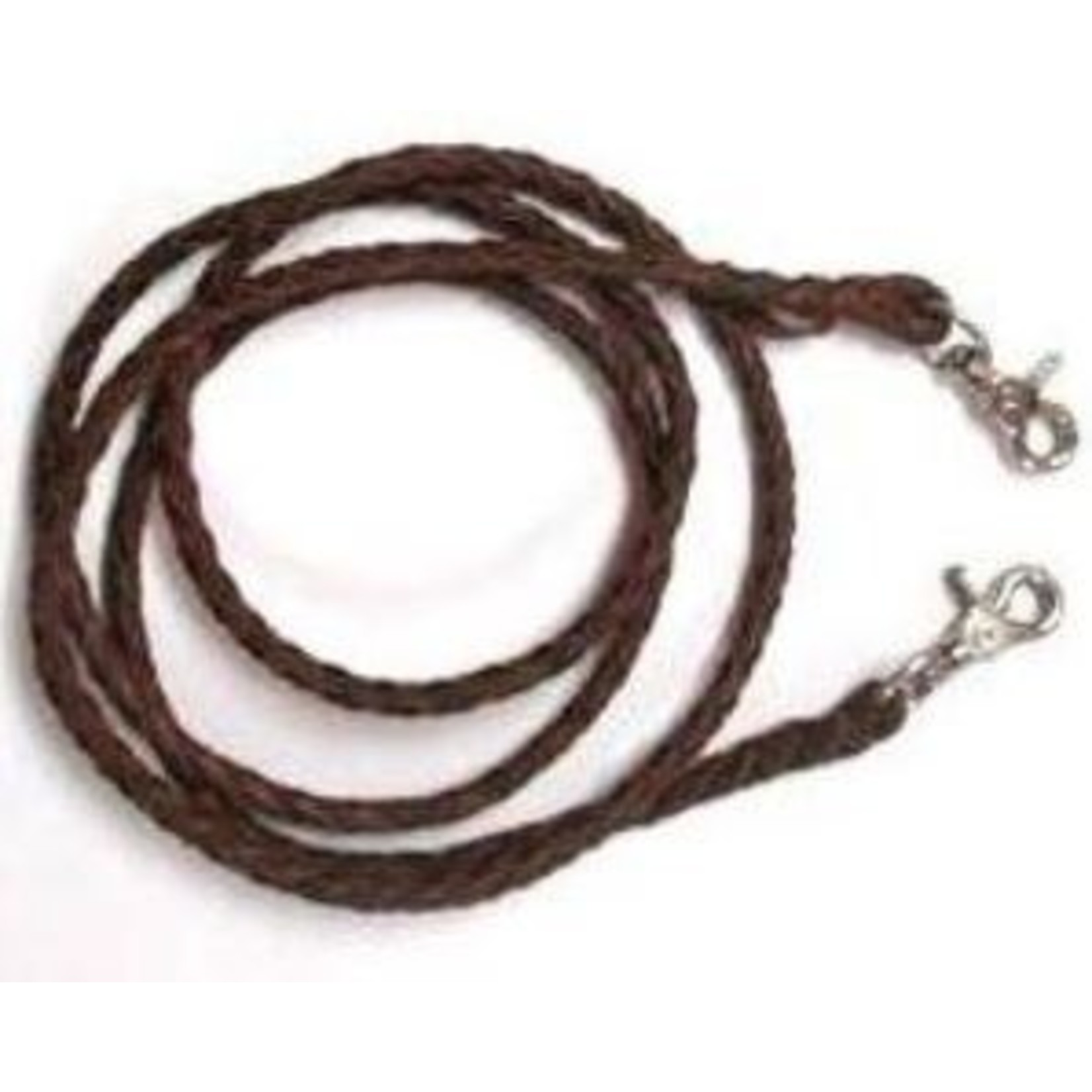 Leather Braided Roping Rein
