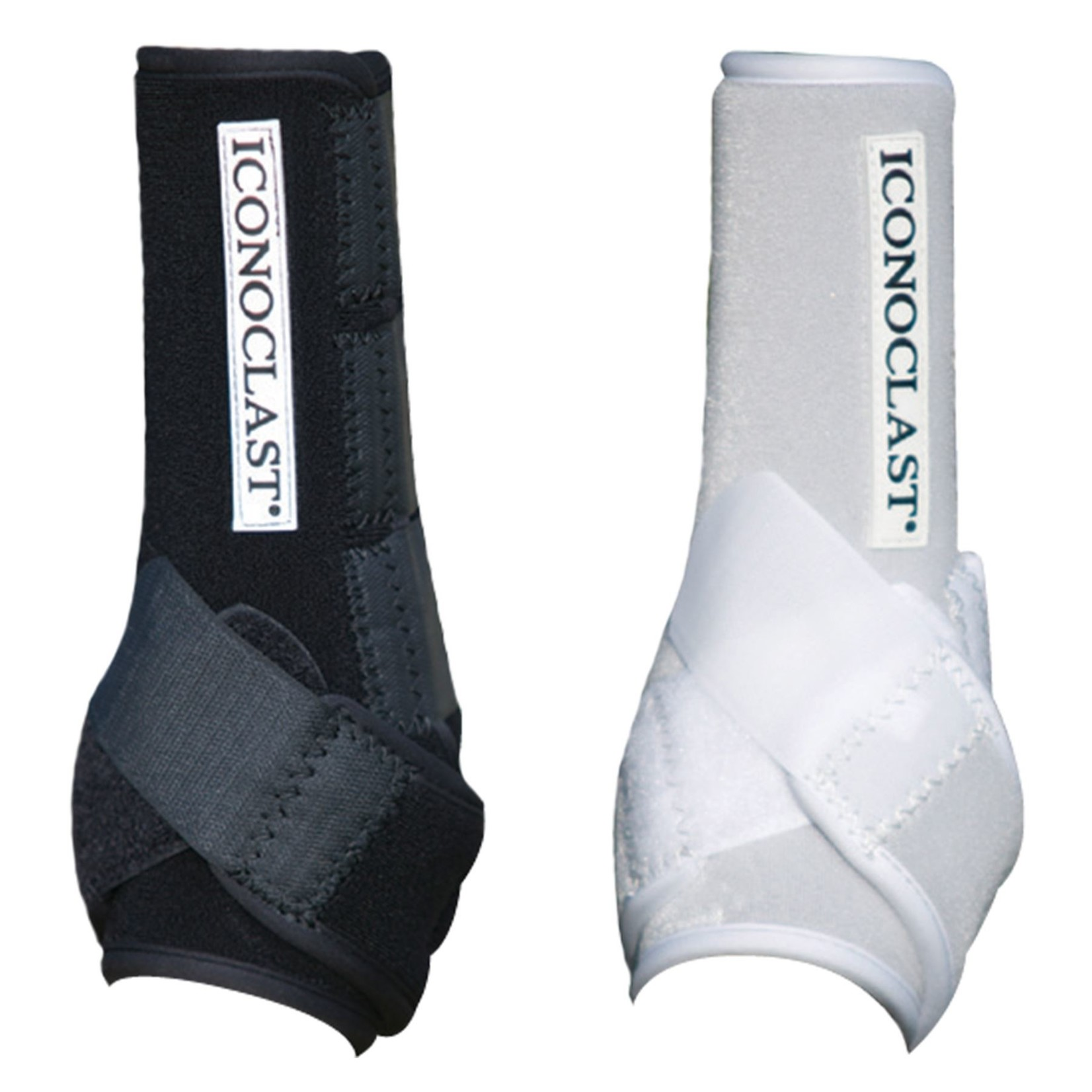 Iconoclast Front Boots - White/Large