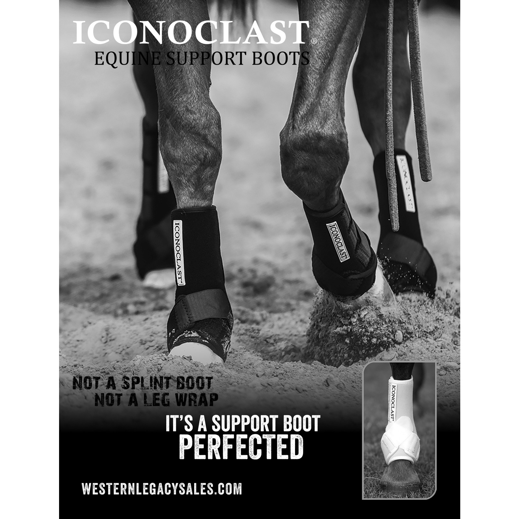 Iconoclast Boots  Wht/Med