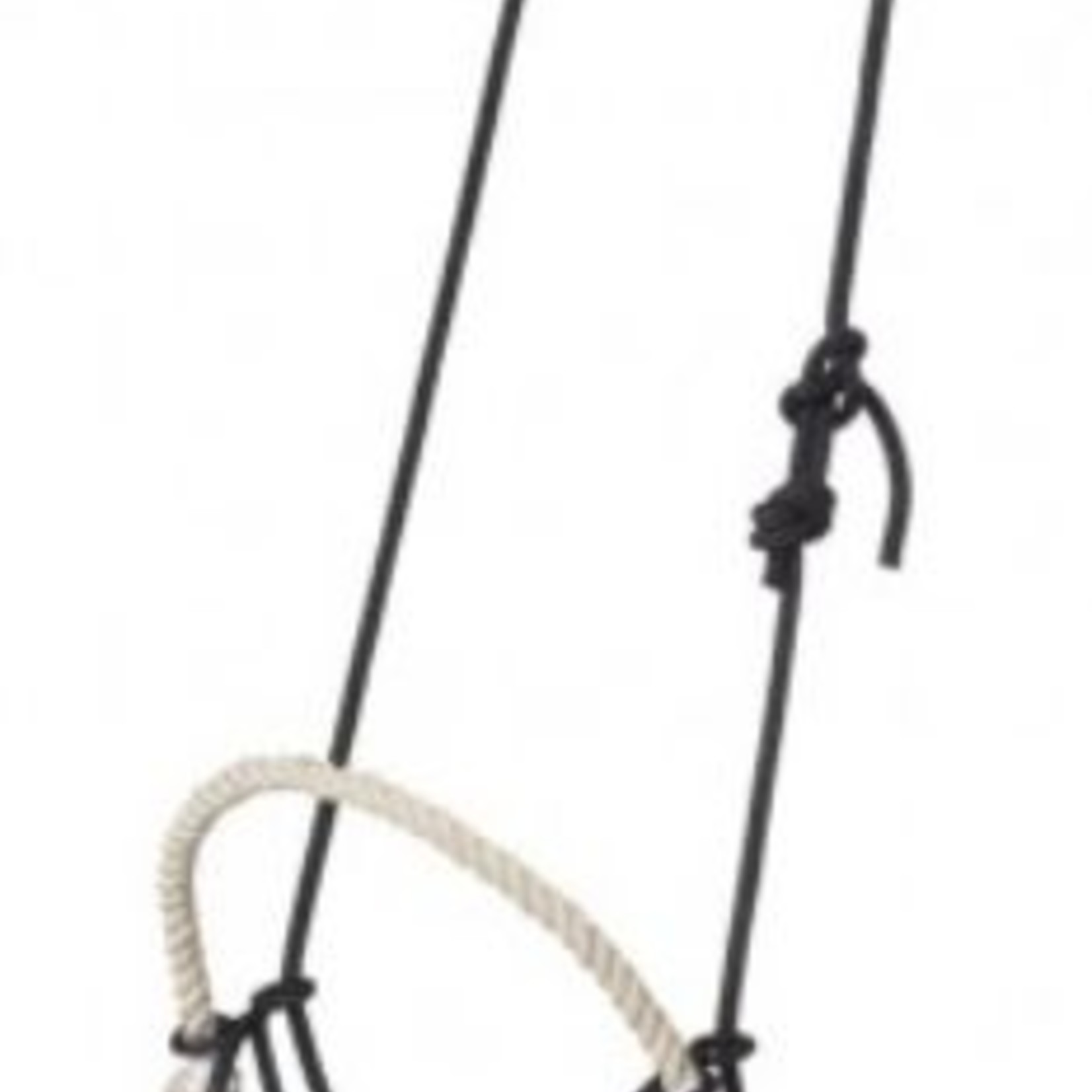 Rope Headstall with Rope Nose/Snaffle Gag Combo