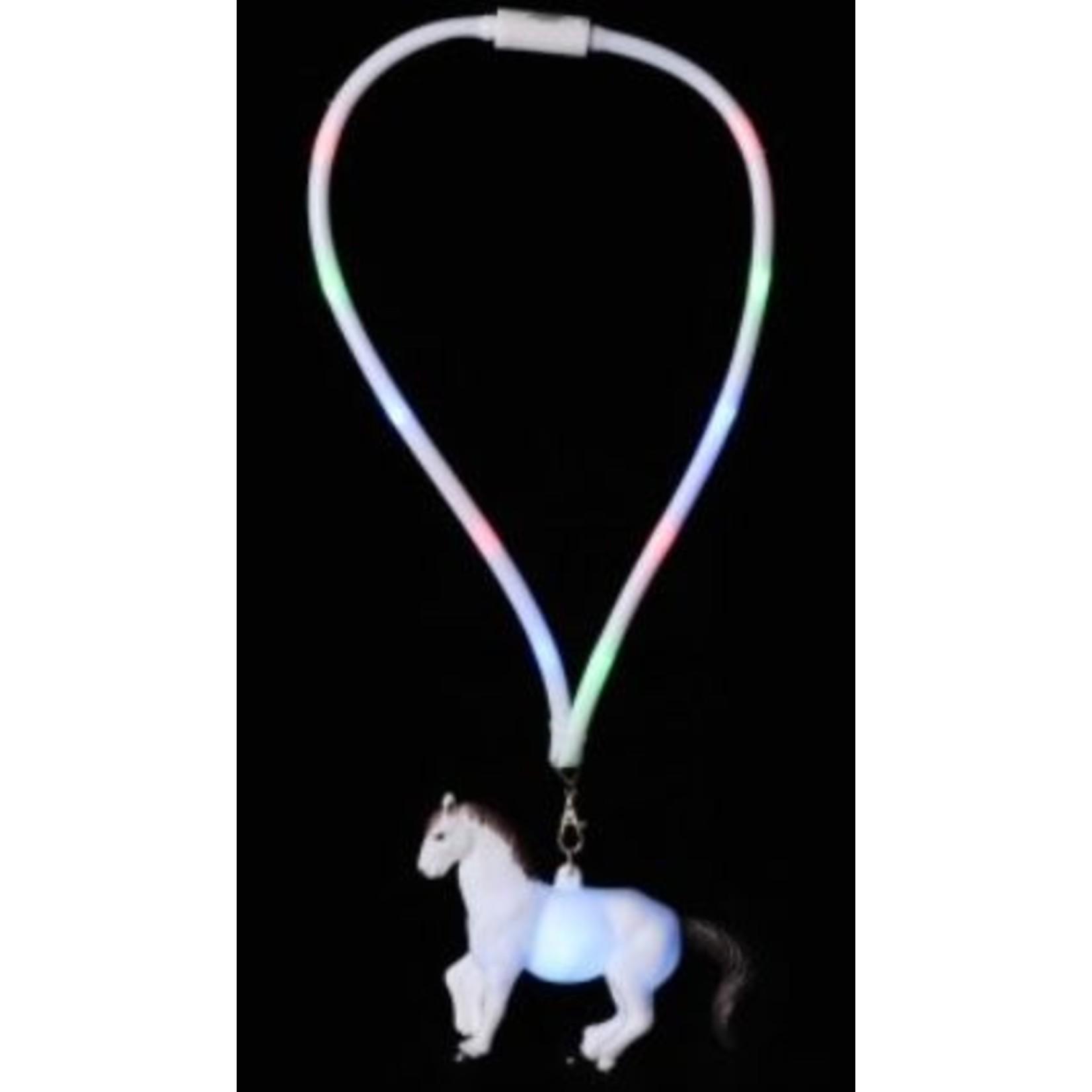 Horse LED Necklace