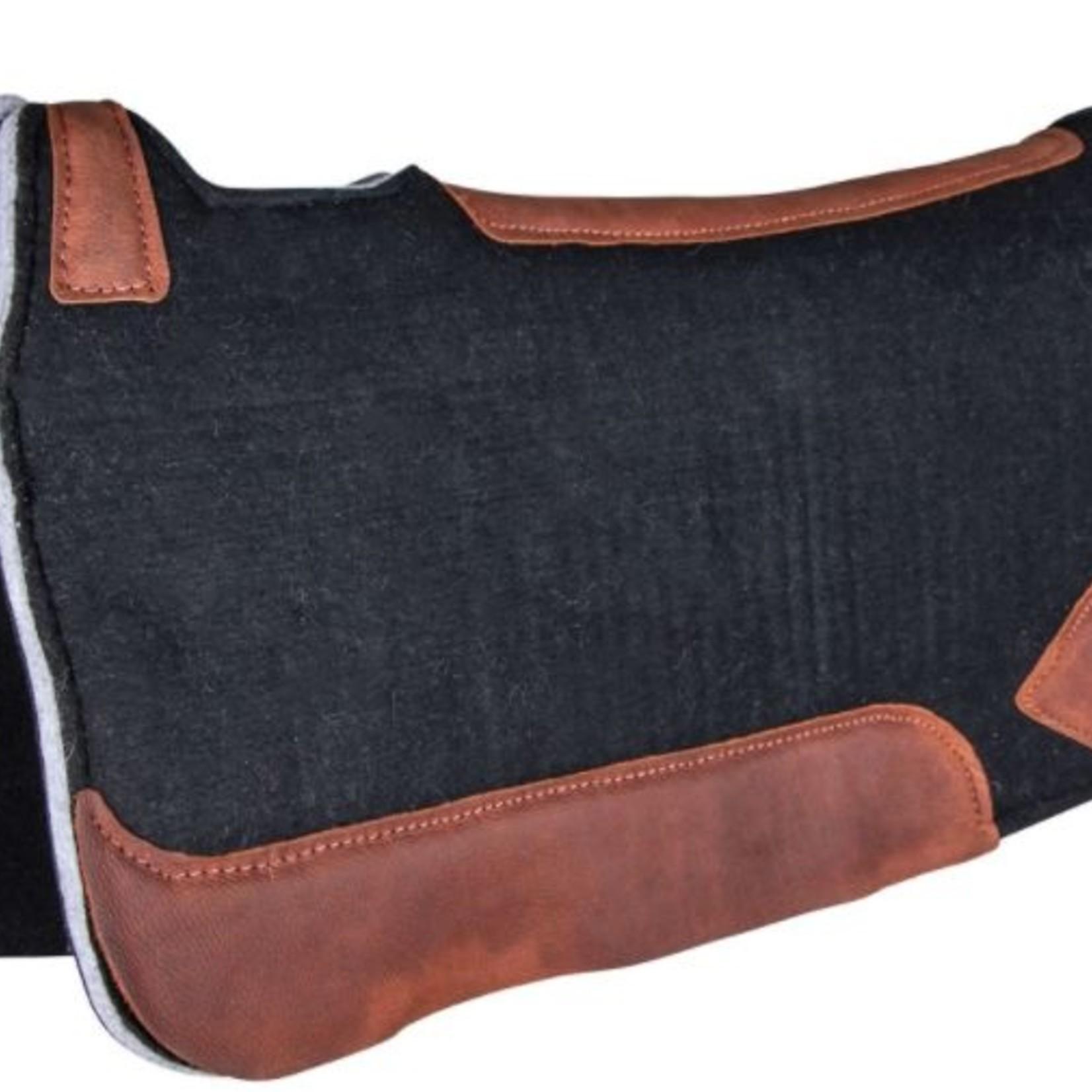 Billy Royal BR Contour Merino Wool Felt Pad - Black