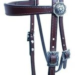 Tapered Browband Headstall