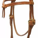 Knotted  Browband - Screw Cheek