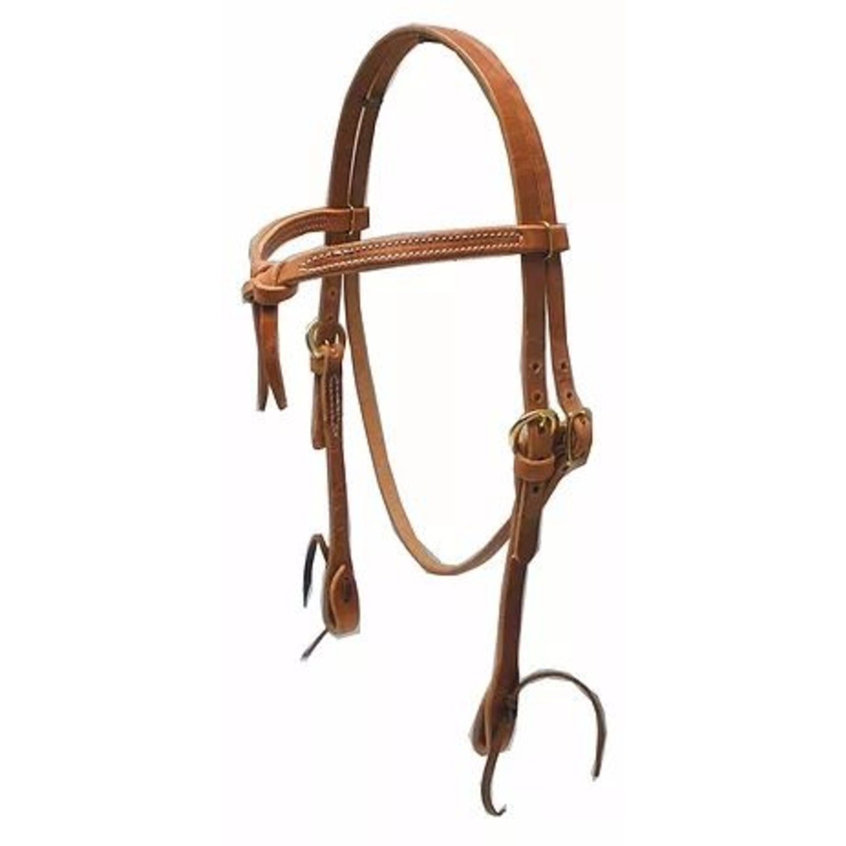 Knotted  Browband - Tie Cheek