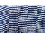 Blue Navajo Double Woven Saddle Blanket