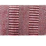 Red Navajo Double Woven Saddle Blanket