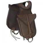 Leather Horn Bag