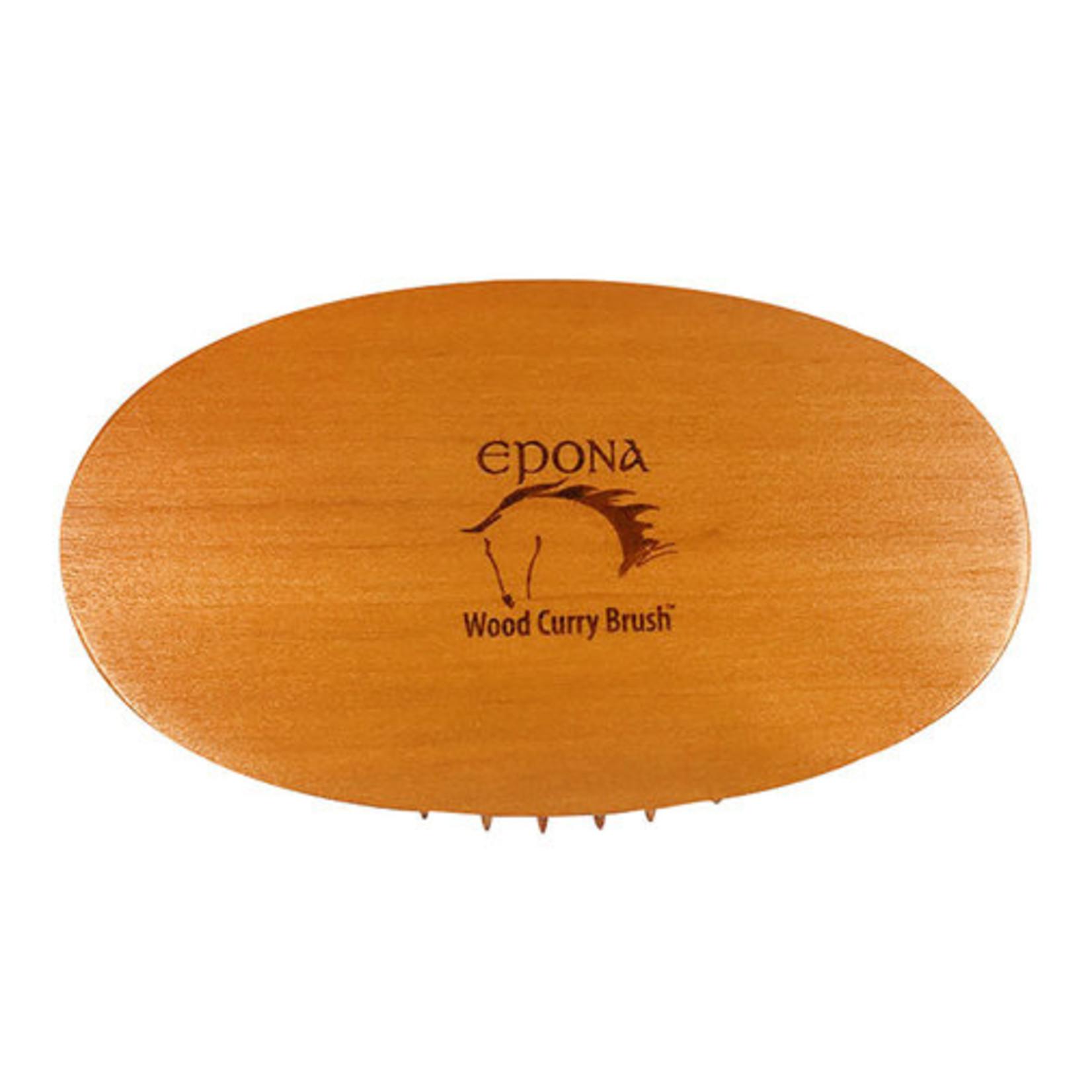 Epona Wood Curry Brush