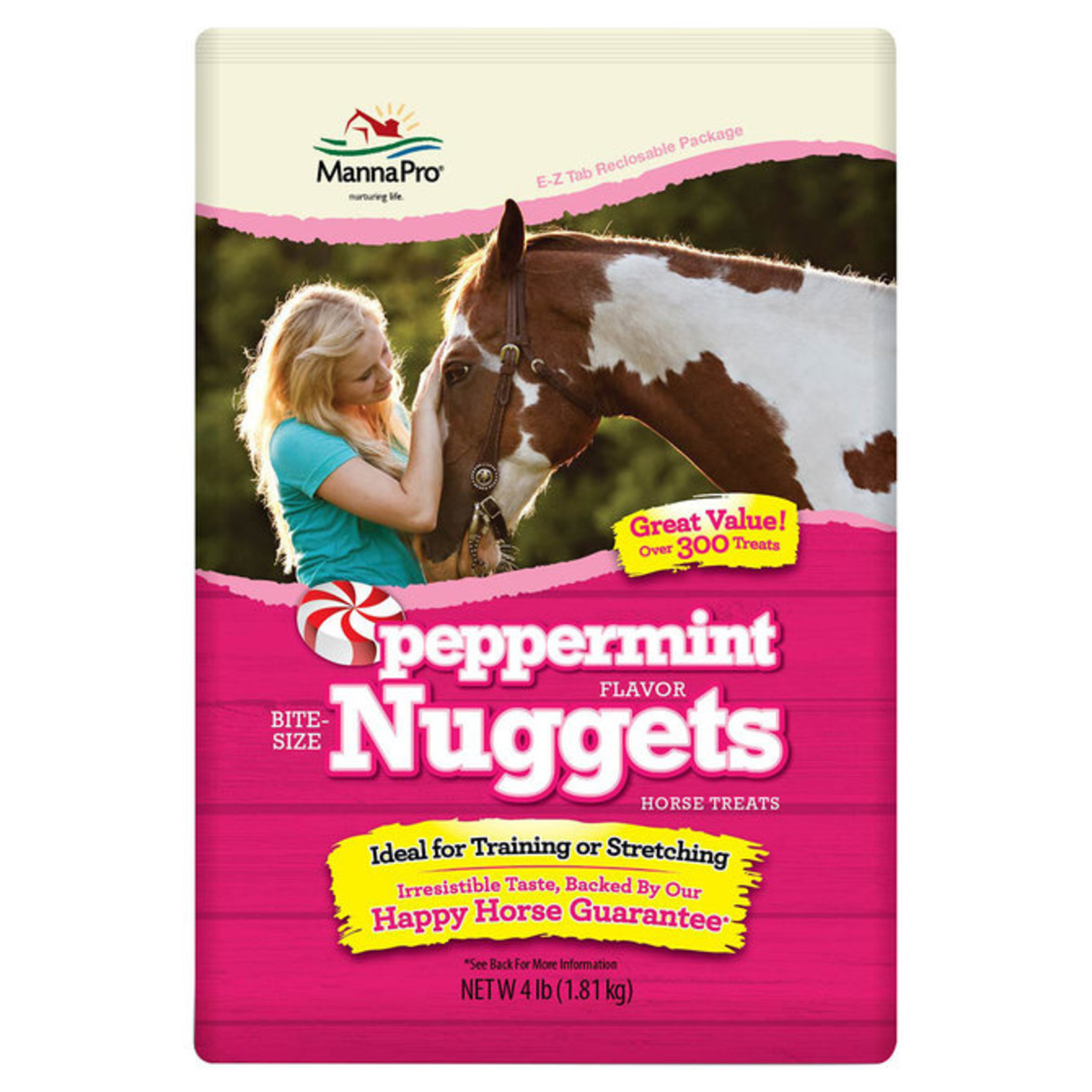 4lb Peppermint Bite Size Nuggets & Wafers