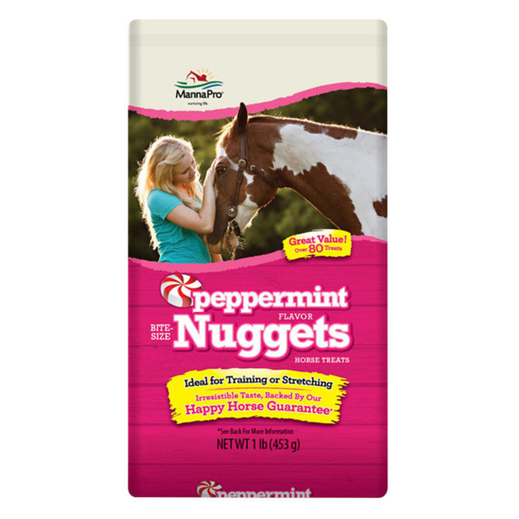 1lb Peppermint Bite Size Nuggets & Wafers
