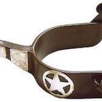 Ranger Star Spurs 1 1/4 Band