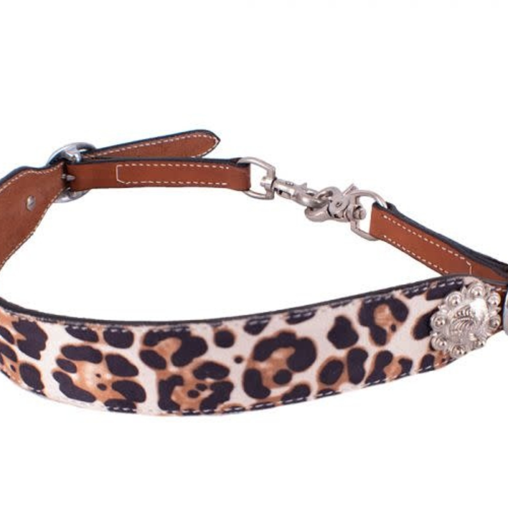 Showman ® Leopard Wither Strap