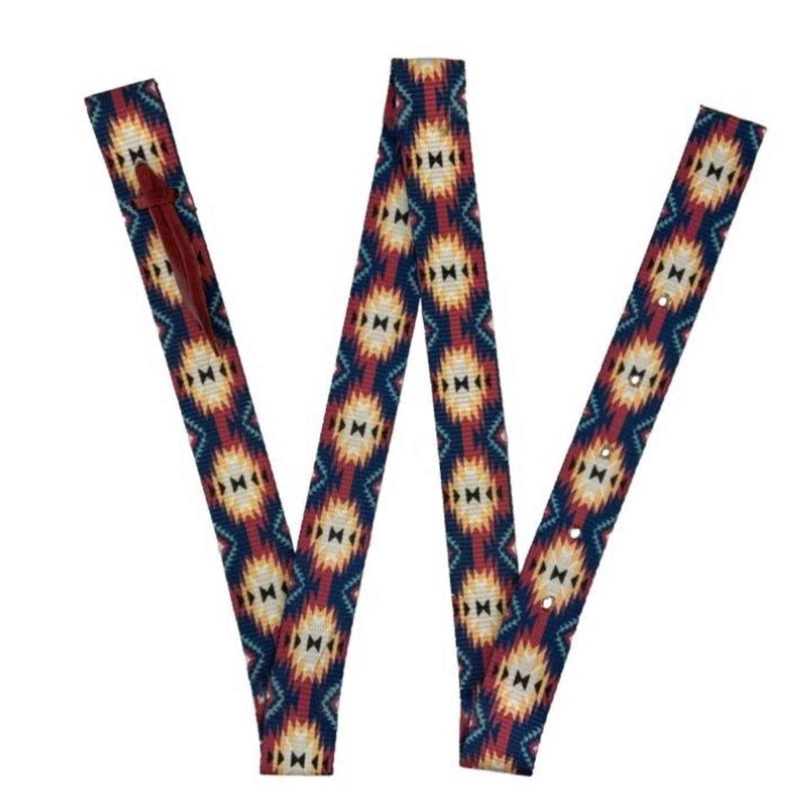 Navy Southwest Tie Strap