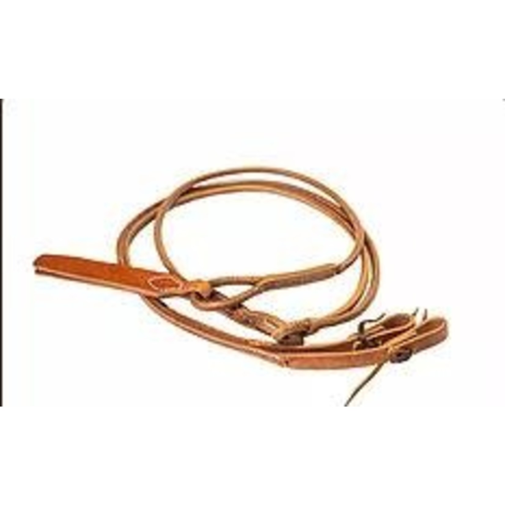 All Leather Round Romel Reins