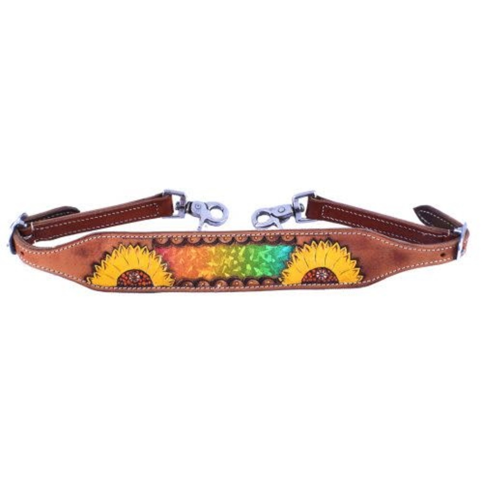 Sunflower Iridescent Wither Strap