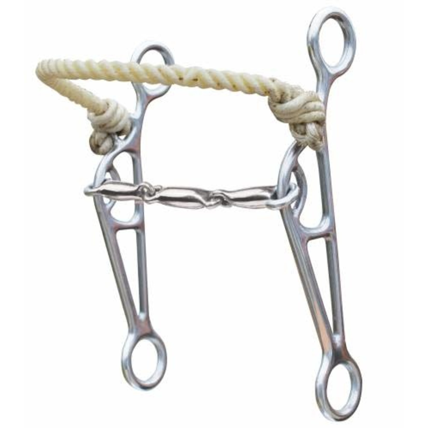 Professional's Choice Rope Nose Three Piece Snaffle Lifter