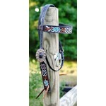 CY Floral Painted Browband