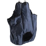 Black Single Hole Hay Bag