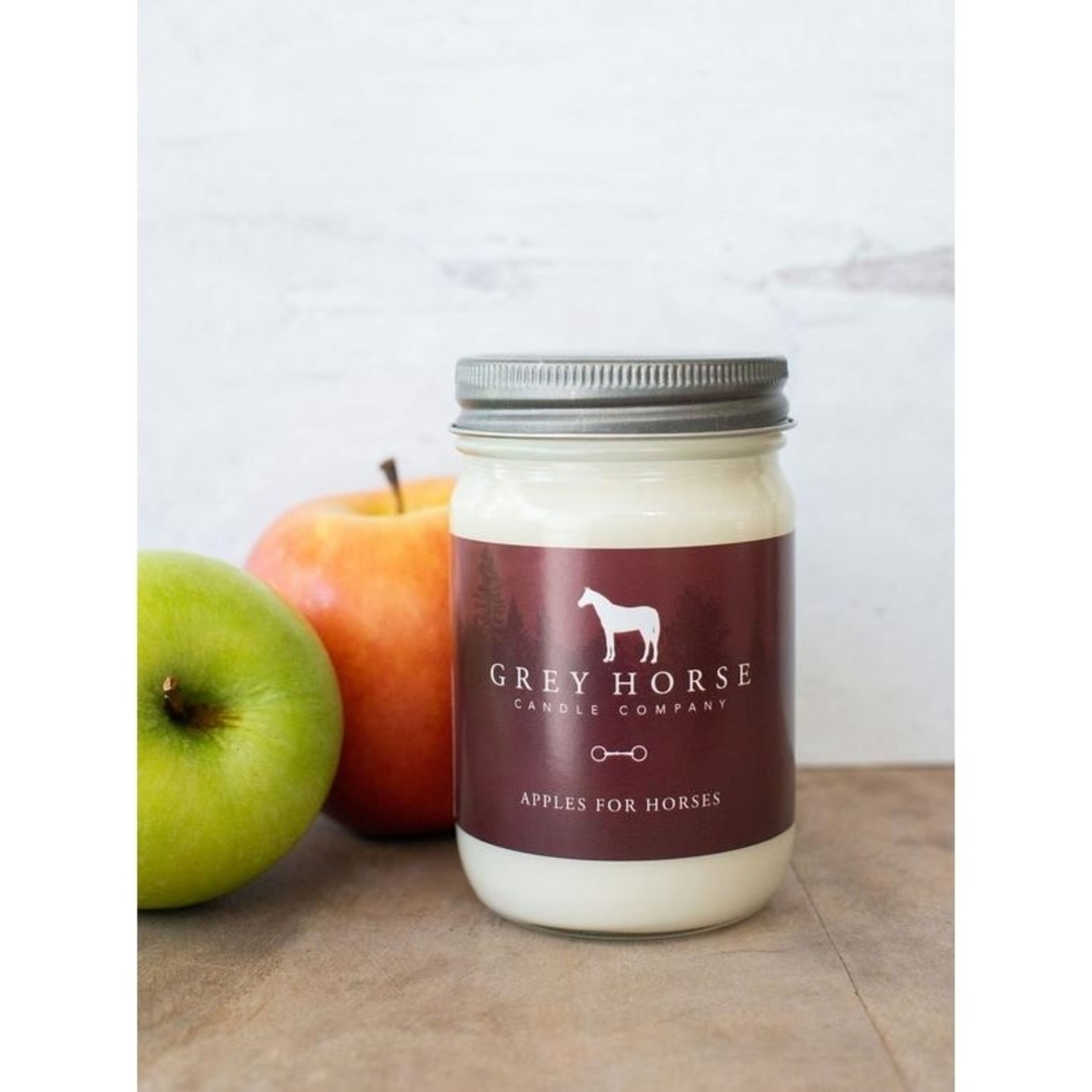 Grey Horse Candles Grey Horse Candle - Apples For Horses 12oz