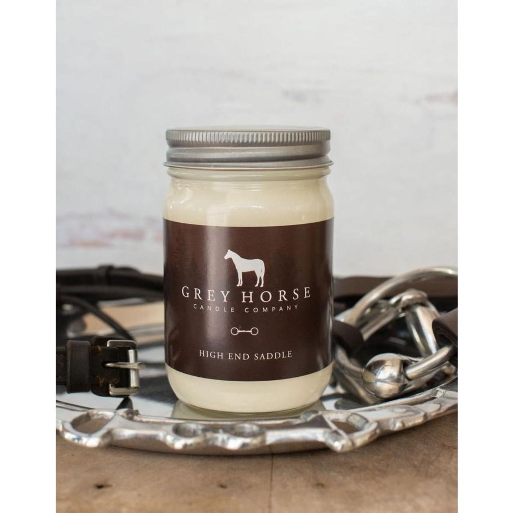 Grey Horse Candles Grey Horse Candle - High End Saddle 12oz