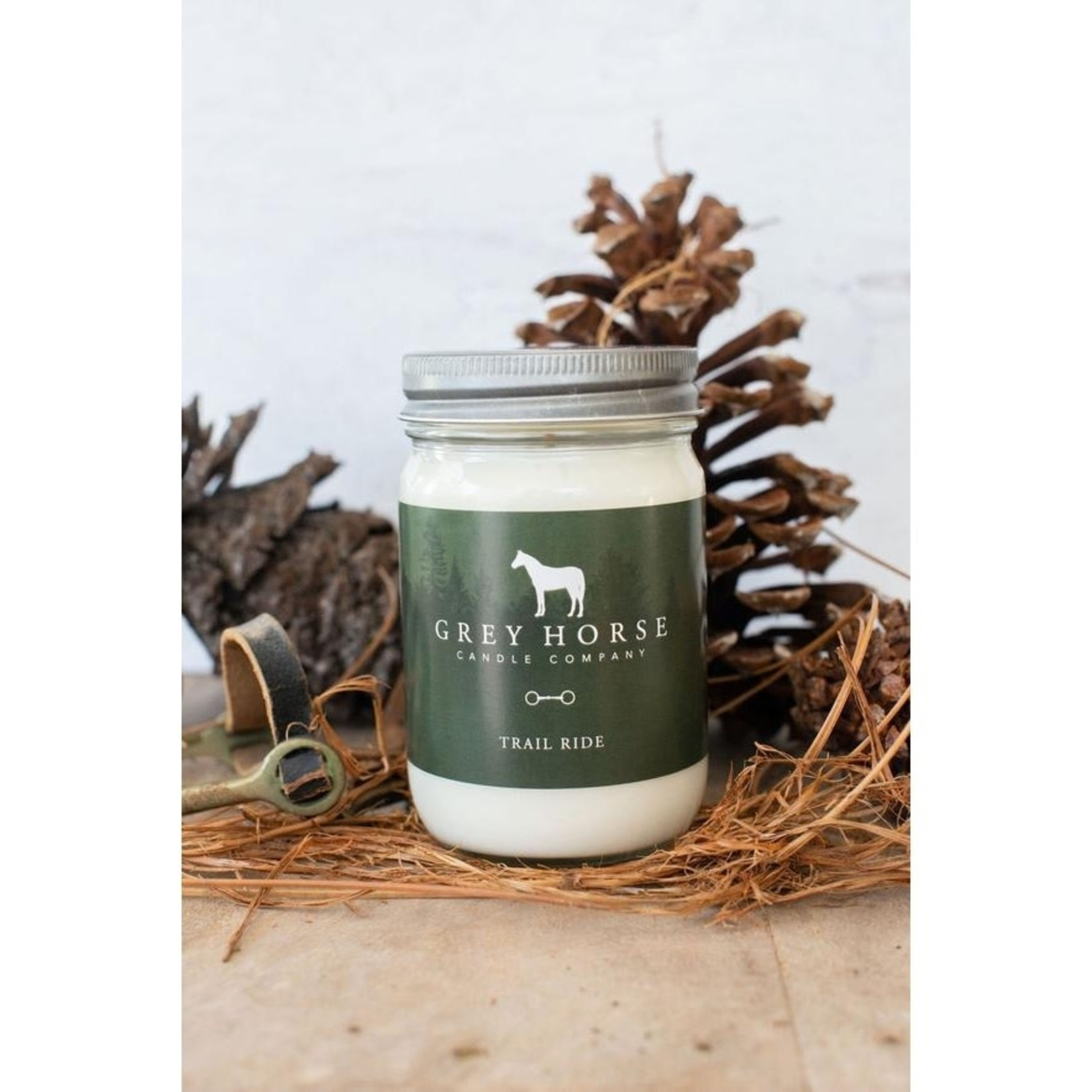 Grey Horse Candles Grey Horse Candle - Trail Ride 12oz