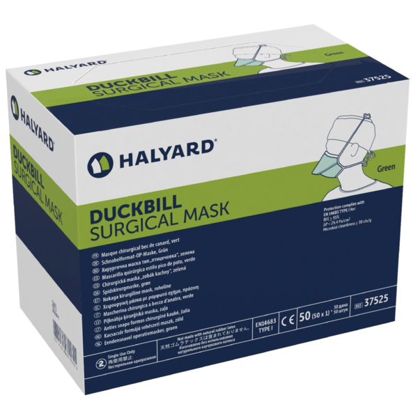Halyard Halyard 48220 Duckbill Surgical Mask, 50/Box