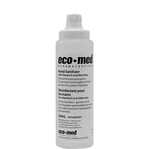Eco-Med Eco-Med 70HSB Hand Sanitizer With Vitamin E and Aloe Vera, 250ml