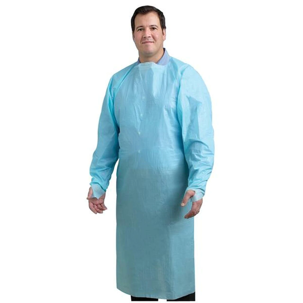 Disposable Isolation Gown, PEVA, 45 GSM, 50/Case