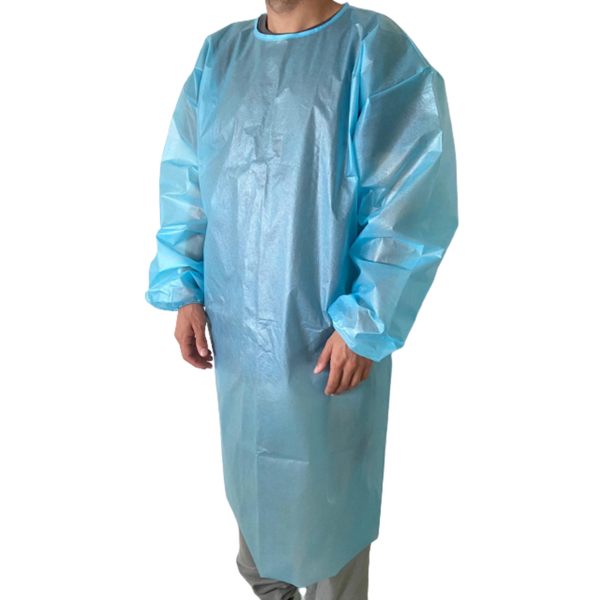Saxon MAX 2130 Level 2 Disposable Isolation Gown, PEVA, 40 GSM, 50/Pack, Pack