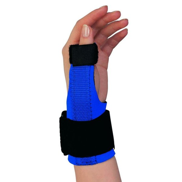 champion Champion C-305 Wrist/Thumb Splint - Royal-Blue Medium (C-305)