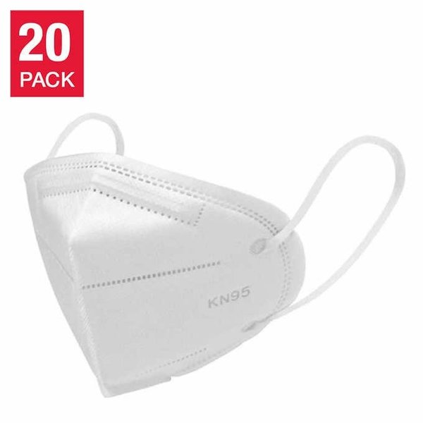 MedSup Canada MedSup Canada  Protective Face Masks - Non Medical Use- Disposable- K95 - 20/BX