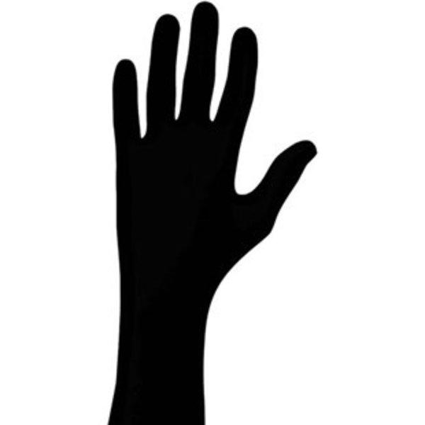 Showa Showa Nitrile Gloves, Powder Free, Non-Sterile, Medium, 100/Box, Black, 6112PFM