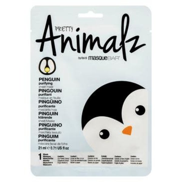 ANIMALZ ANIMALZ PENGUIN PURIFYING SHEET MASK 21ML