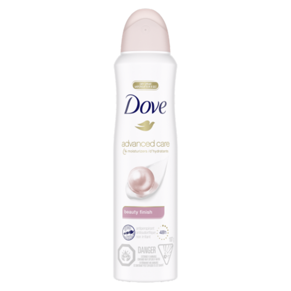 DOVE DOVE ANTIPERSPIRANT BEAUTY FINISH 107G